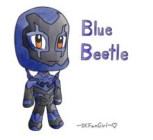 Blue Beetle by DCFanGirl