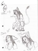 Werecat TF 5 by WhiteBlueWerecat