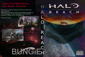 Halo Reach: Custom Cover by Jourdy288