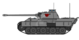 Valentines day Panther by COLT731