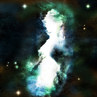 The Lady in the Nebula by panzi
