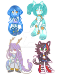Chibi Adoptables (CLOSED) by A7omsk