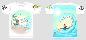 Surf's Up shirt by Chocoreaper