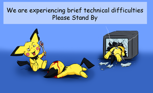 Pichu Error Screen by Stickdog