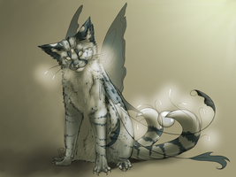 Fasir : Marble Cat by PuddingWaffles