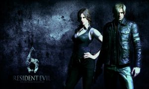 Resident Evil 6 wallpaper by VickyxRedfield