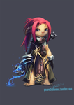 GW2 Tami Dungeon Outfit by knight-mj