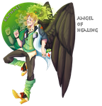 Adopt Auction: Angel of Healing- Raphael CLOSED by King-Poutine