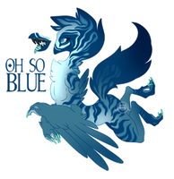 [Closed] Oh So Blue [Adopt] by Seoxys6