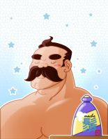 Macho shampoo by KaijuKaiser