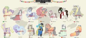 [CLOSED] International Pony Adopts by azume-adopts