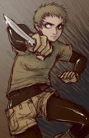 Claire - Menace by blk-kitti