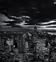 NYC in B+W by Timosaby