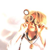 Steampunk Photoshoot -- 02 by My-Friends-Are-Owls