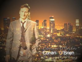 Conan O'Brien Wallpaper by TheFlyingHeart