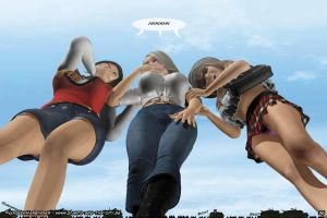 mega-giantess chicks 3 by UnseenHarbinger