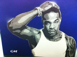 Busta Rhymes by Stencils-by-Chase