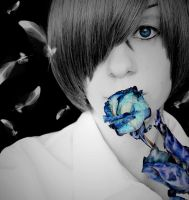 Blue Rose by Ciel-in--Wonderland