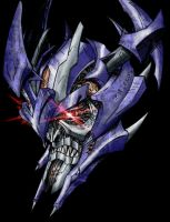 Galvatron Movie Concept Colour by channandeller