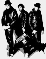 RUN DMC by Ger1co
