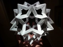 Star Icosidodecahedron by musicmixer112