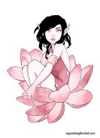 Lotus flower princess by ingunnbf