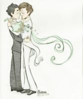 Klaine Wedding by Muchacha10