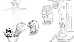 Sketches Set 1 (The Dog and the Whistle) by amitjakhu