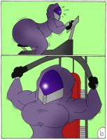 Tali gets pumped page 10 by Robot001
