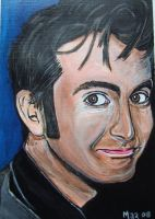 David Tennant Painting by Mazzi294