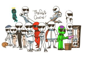 The Stig and Cousins by hvn7tg