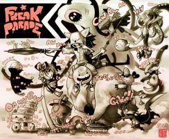 Freak parade by Yufei