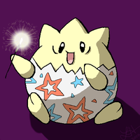 Patriotic Togepi by SakiChiRocks