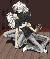 Fainting Ryou Bakura gets Idea by loonylucifer