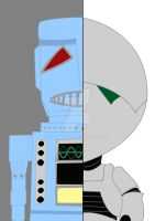 Then And Now: Marvin the Robot by SalmirAeon