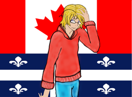 Hetalia Axis Powers Canada by malerfique