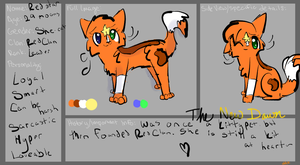 Redstar Ref ~For #The-New-Dawn- ~ by WaitingforWaffles