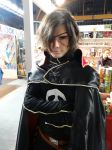 Captain Harlock -Mantova Comics 2015 by Groucho91