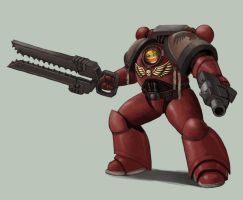IM AN EFFING SPACE MARINE by Lutherniel