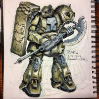 March of Robots 9/31 by Mecha-Zone
