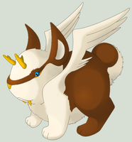 Wolpertinger Fakemon by shadixART
