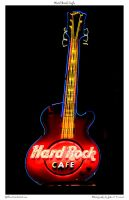 Hard Rock Cafe by yellowcaseartist