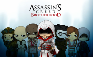 Assassins Creed Brotherhood by Mibu-no-ookami