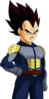Vegeta (Saiyan Saga) MLL Redesign V1 by OWC478