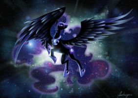 Nightmare Moon by fantazyme