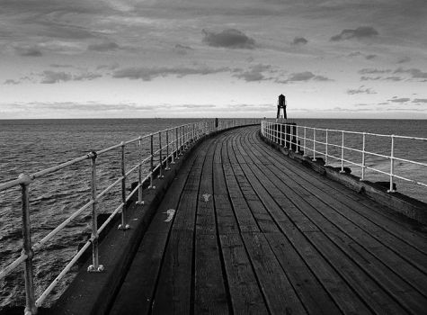 Whitby Pier 1 by james-dolan