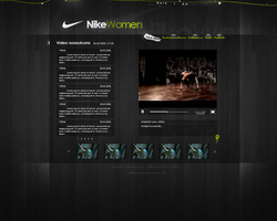 NIKEwomen design by causeDesign