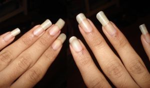 Plain long nails by PSherman42WallabyWay