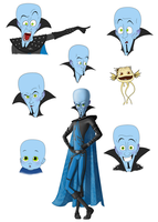 Megamind by Sajren91