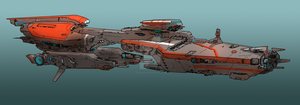 Heavy-cruiser by SDFleshmaster